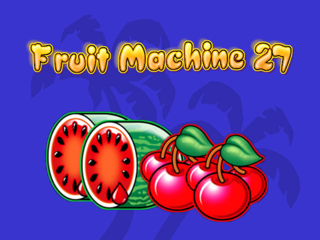 Nyerőgép Fruit Machine 27